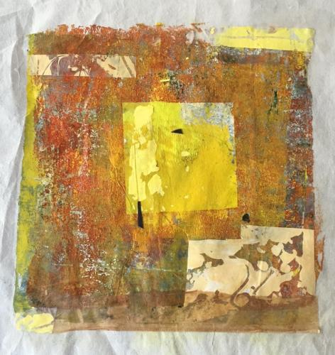 yellow square 1 by michele southworth